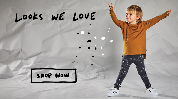 kids merino cool tops