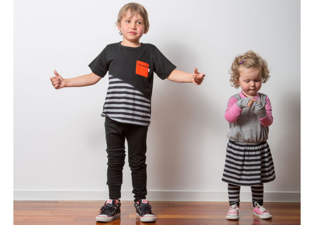 Baby and Kids merino clothes for little monsters